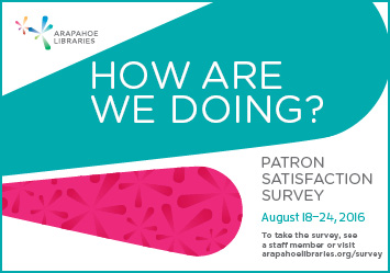 2016 Patron Satisfaction Survey